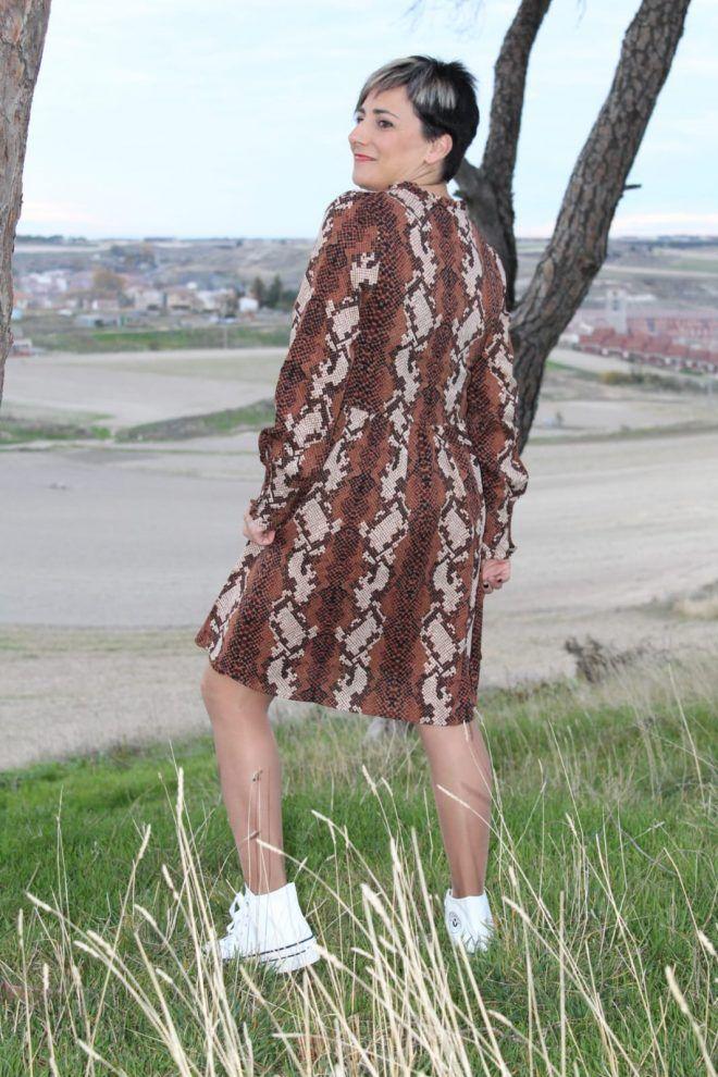 Vestido ABL Paz mental   Pasitos Cuéllar